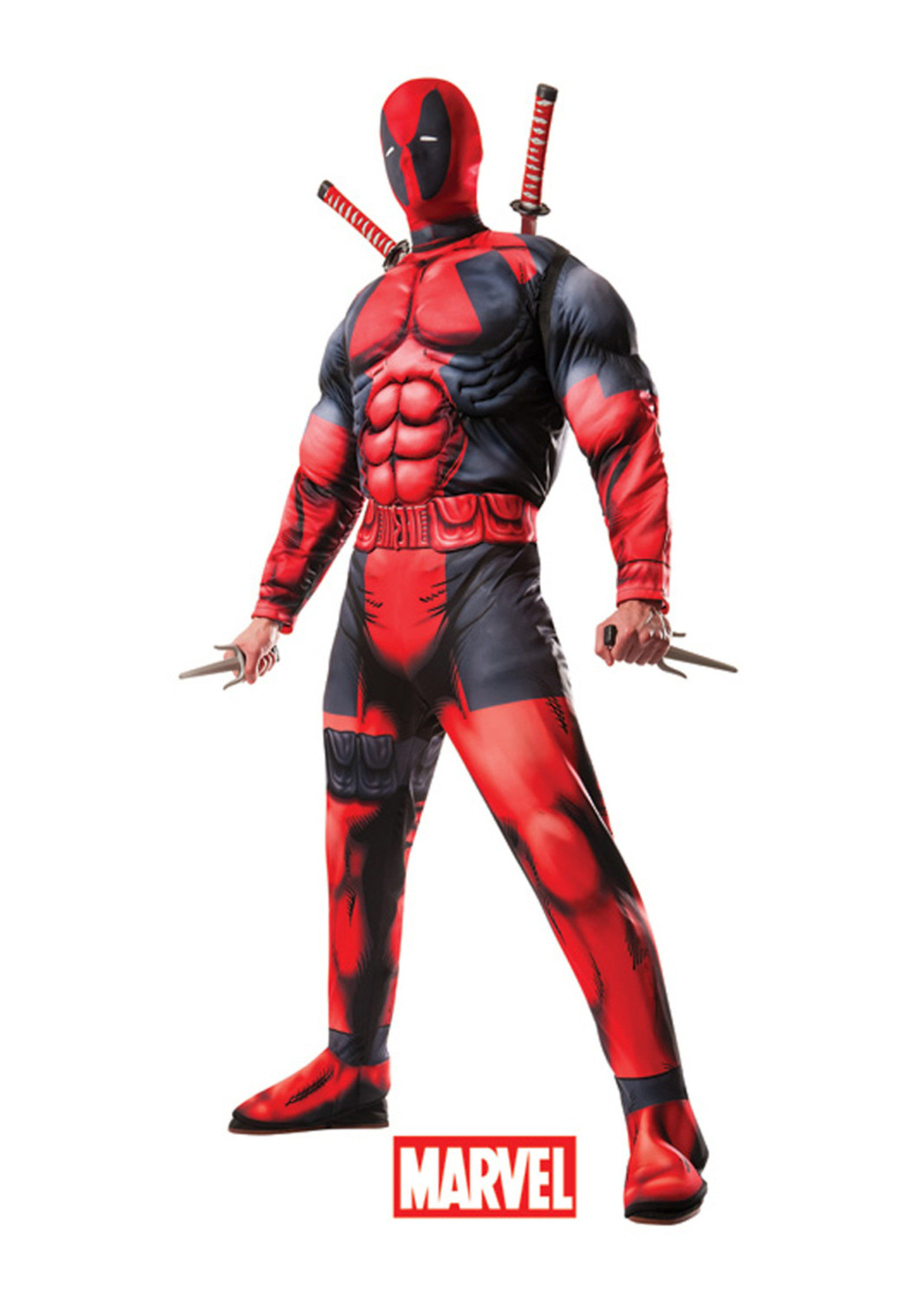 Deadpool Deluxe Costume - Men's