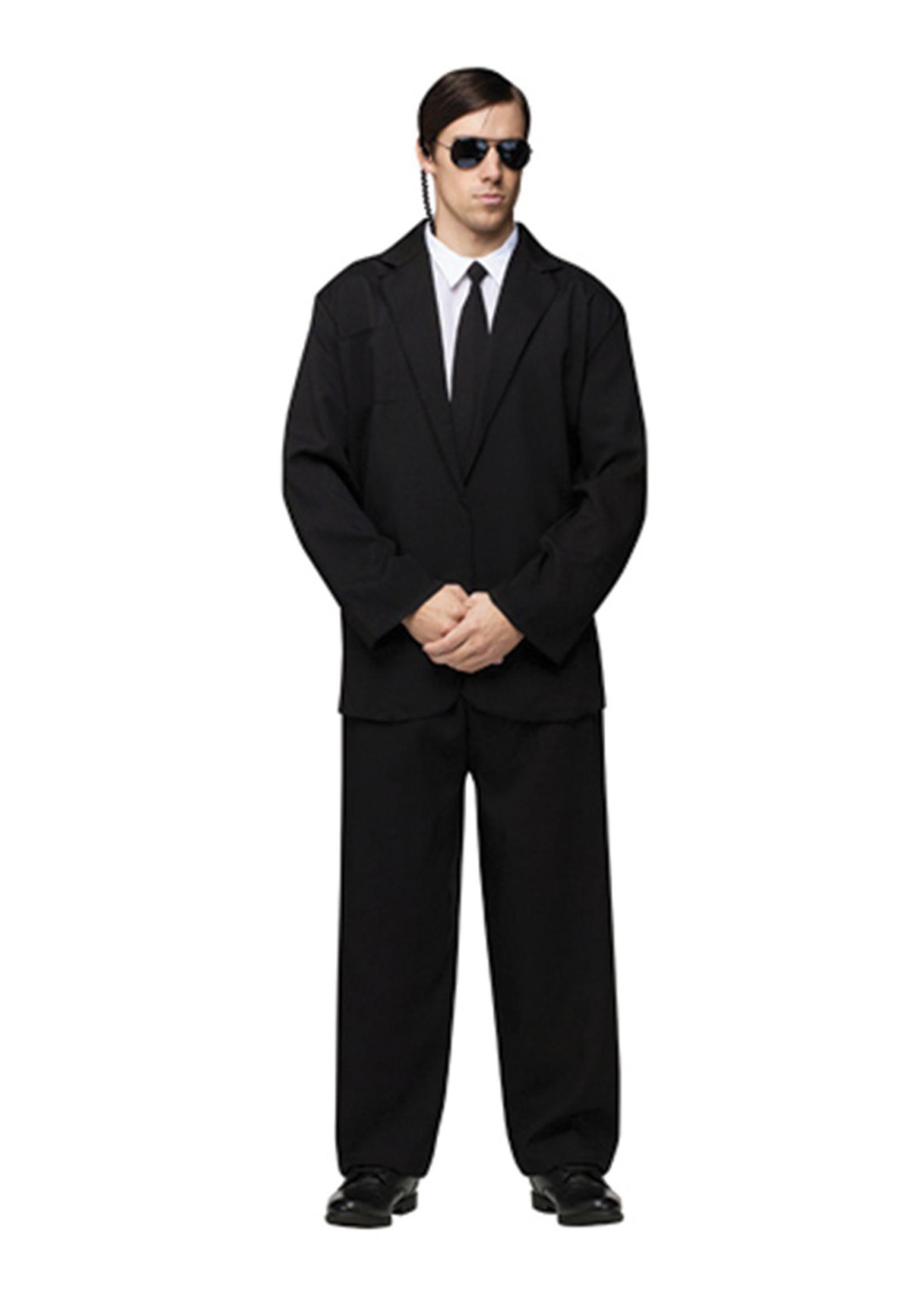 Black Suit Costume - Men's
