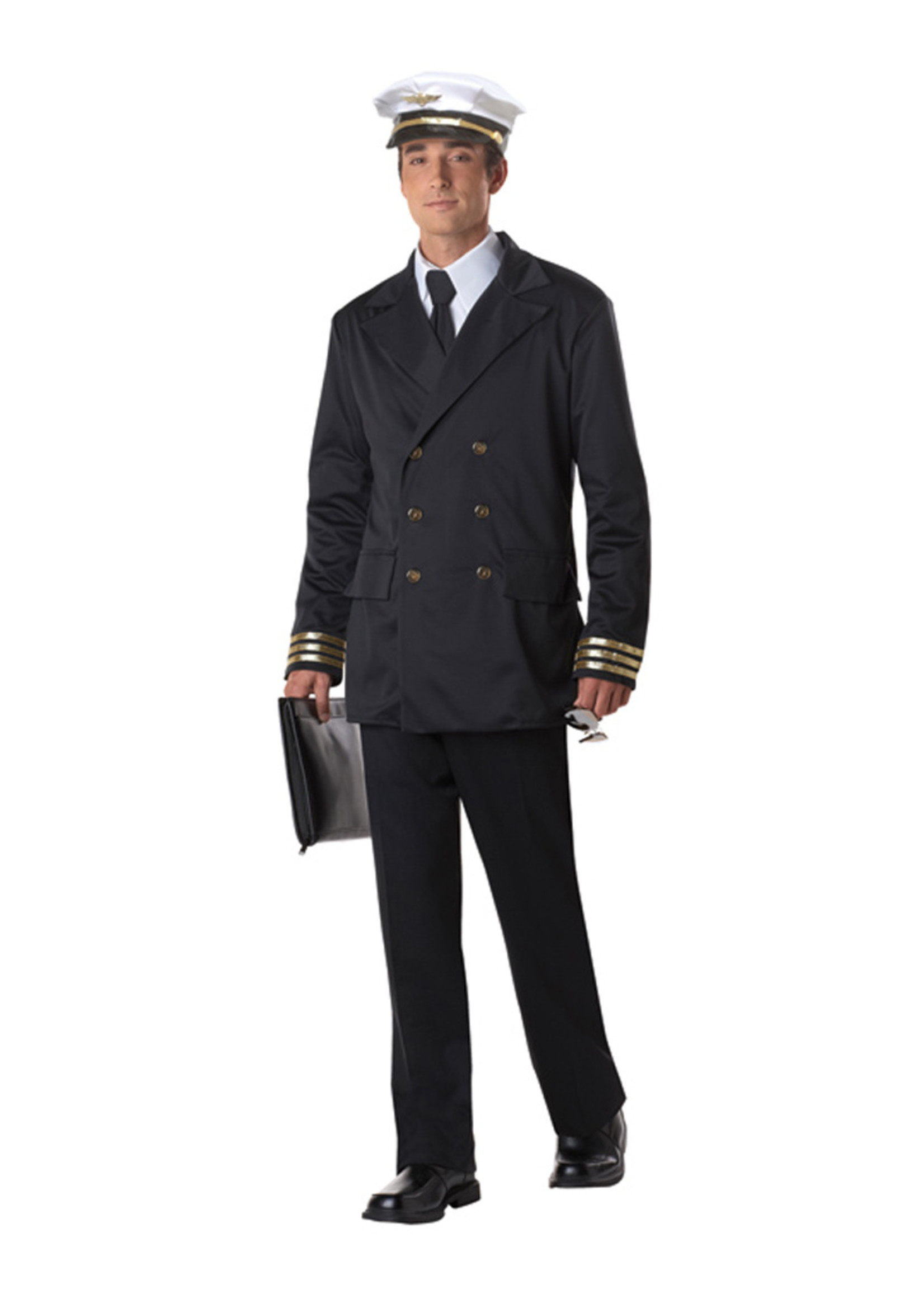 Retro Pilot Costume - Men's