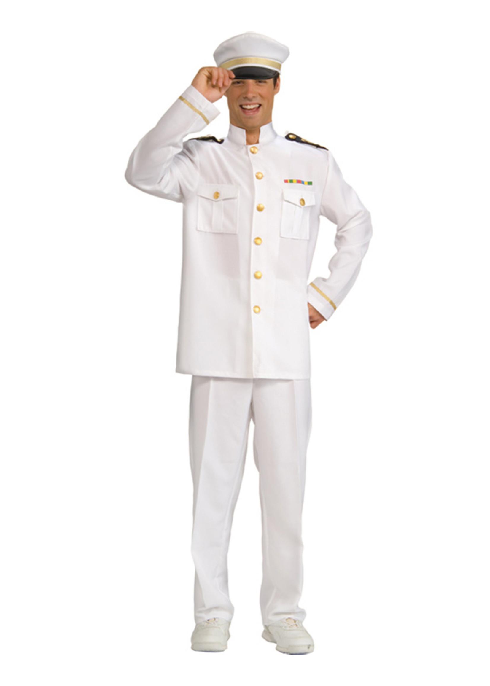 Captain Cruise Costume - Men's