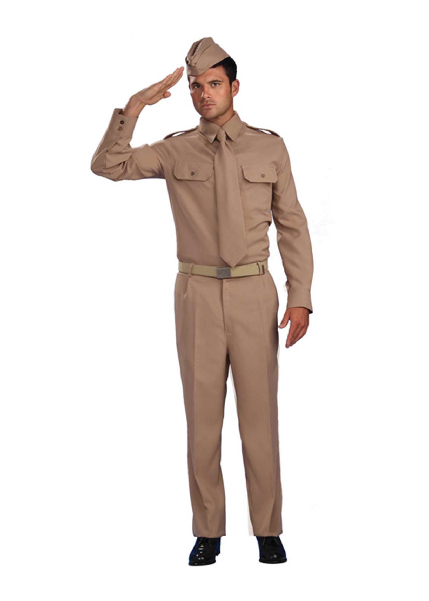 WW2 Private Costume - Men's