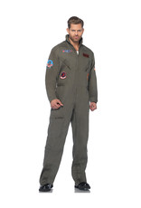 Top Gun Flight Suit Costume - Men's