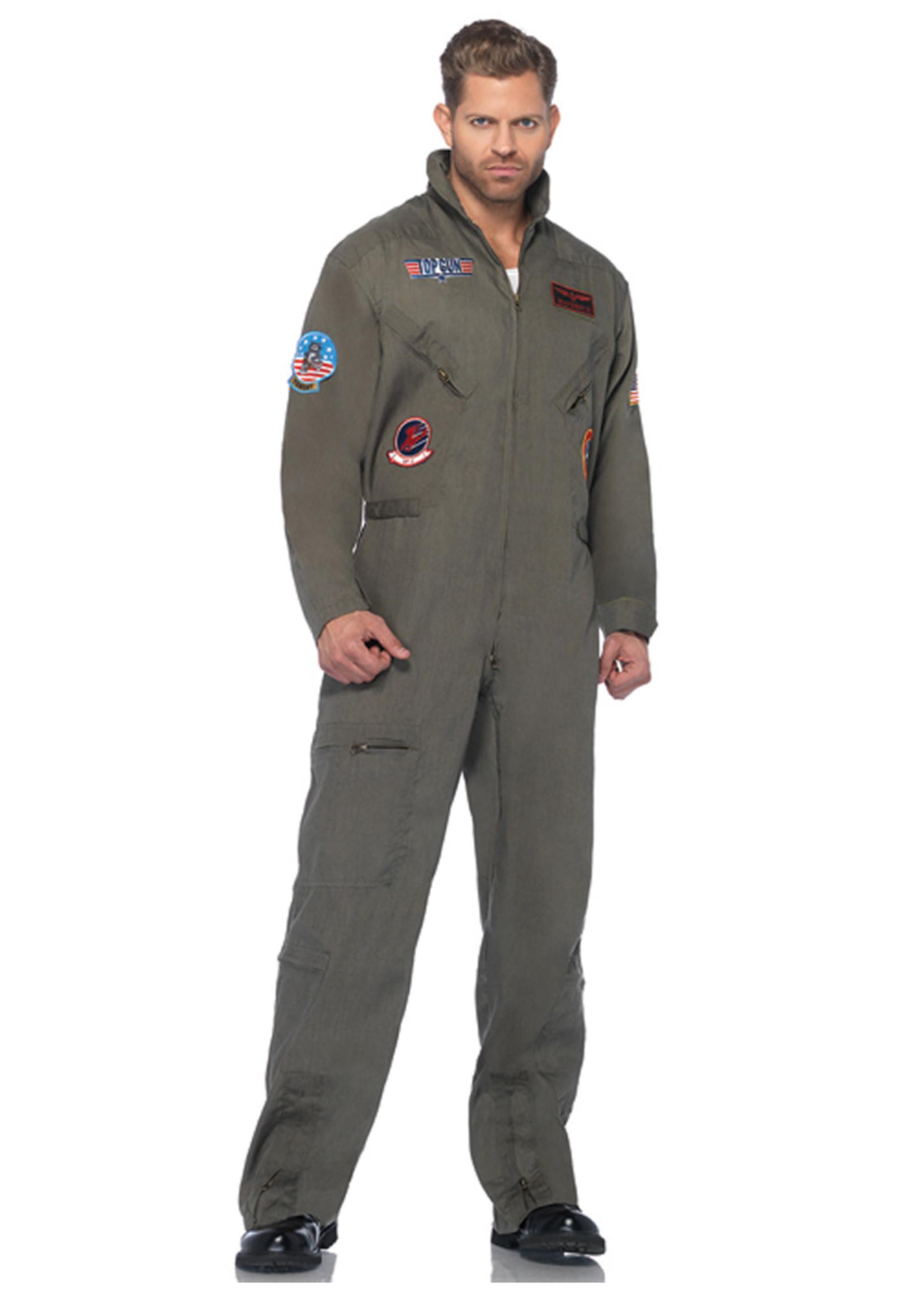 Top Gun Flight Suit Costume - Men's
