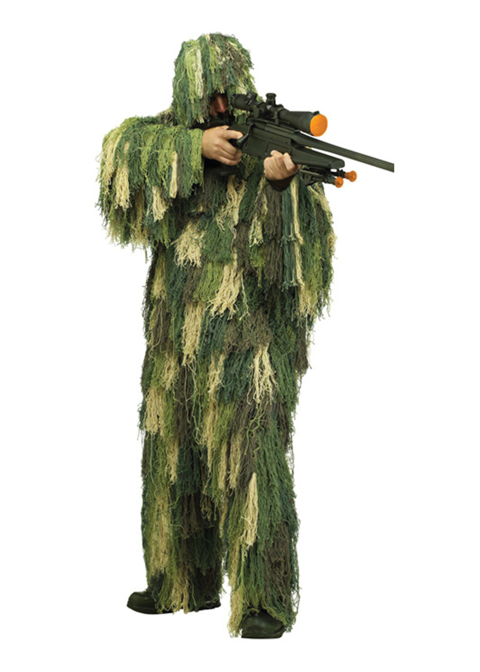 Ghillie Suit Costume - Men's