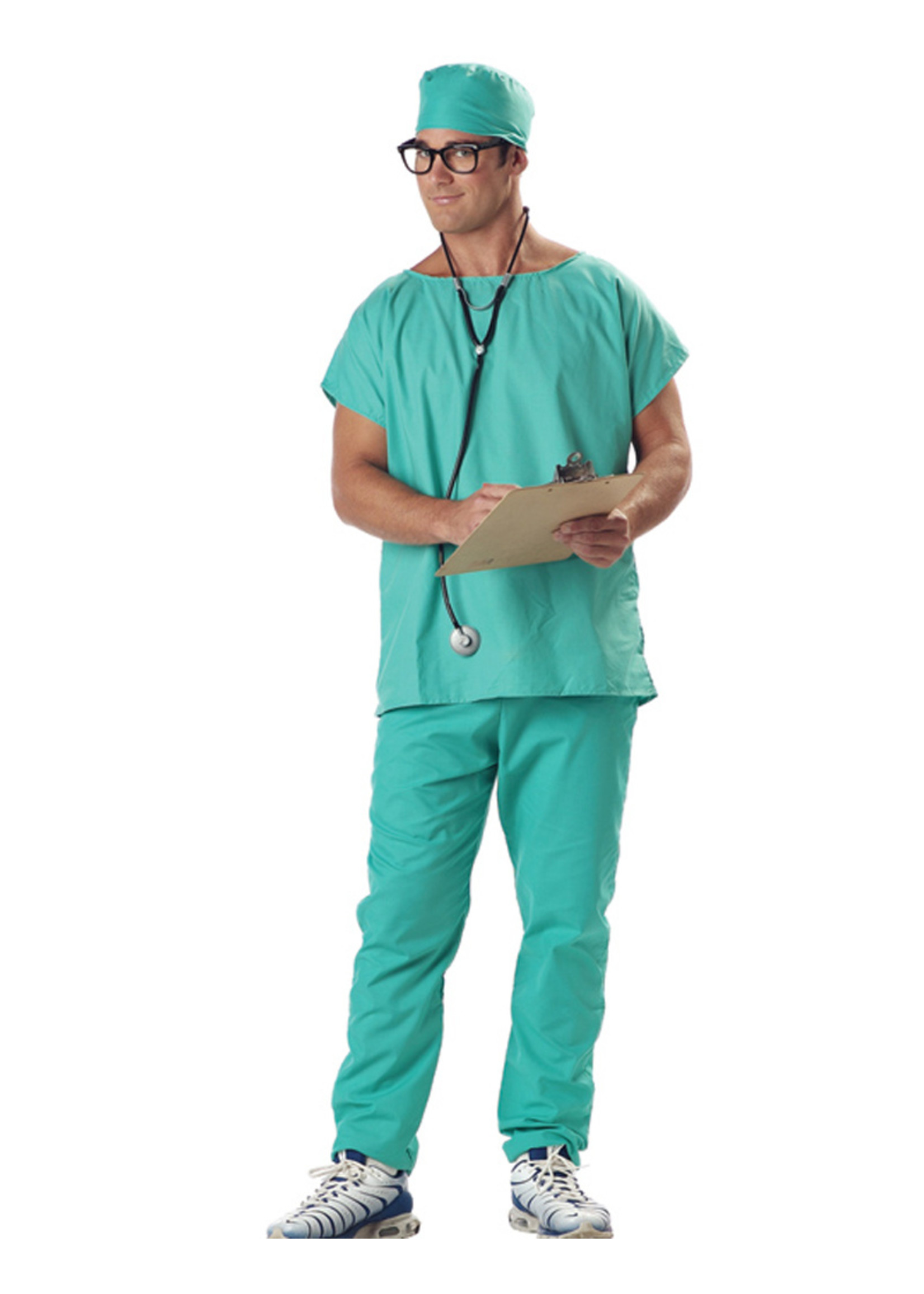 Doctor Scrubs Costume - Men's