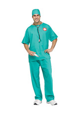 Surgeon Scrubs Costume - Men's