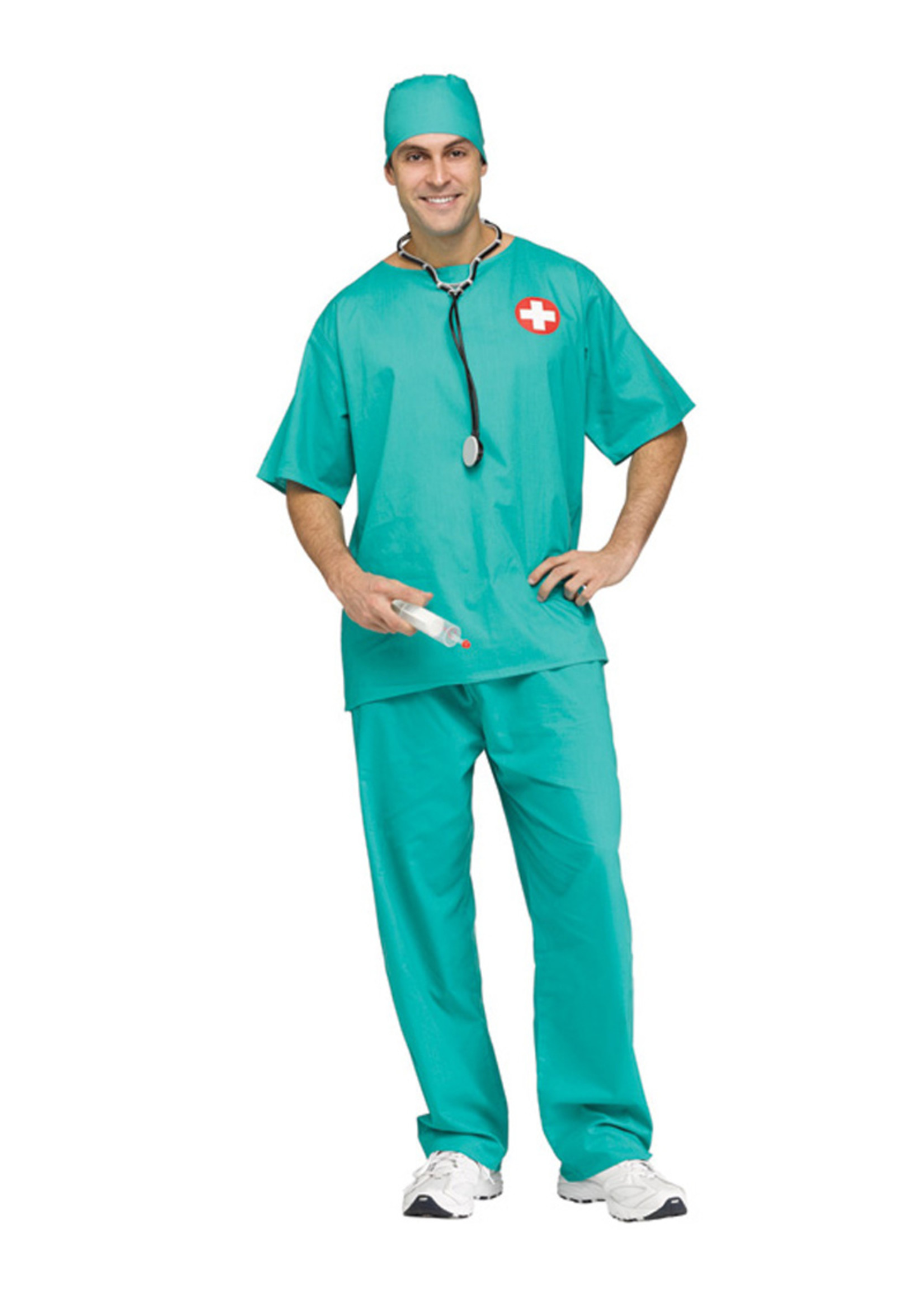 Surgeon Scrubs Costume - Men's