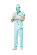 Dr. Bloodbath Costume - Men's