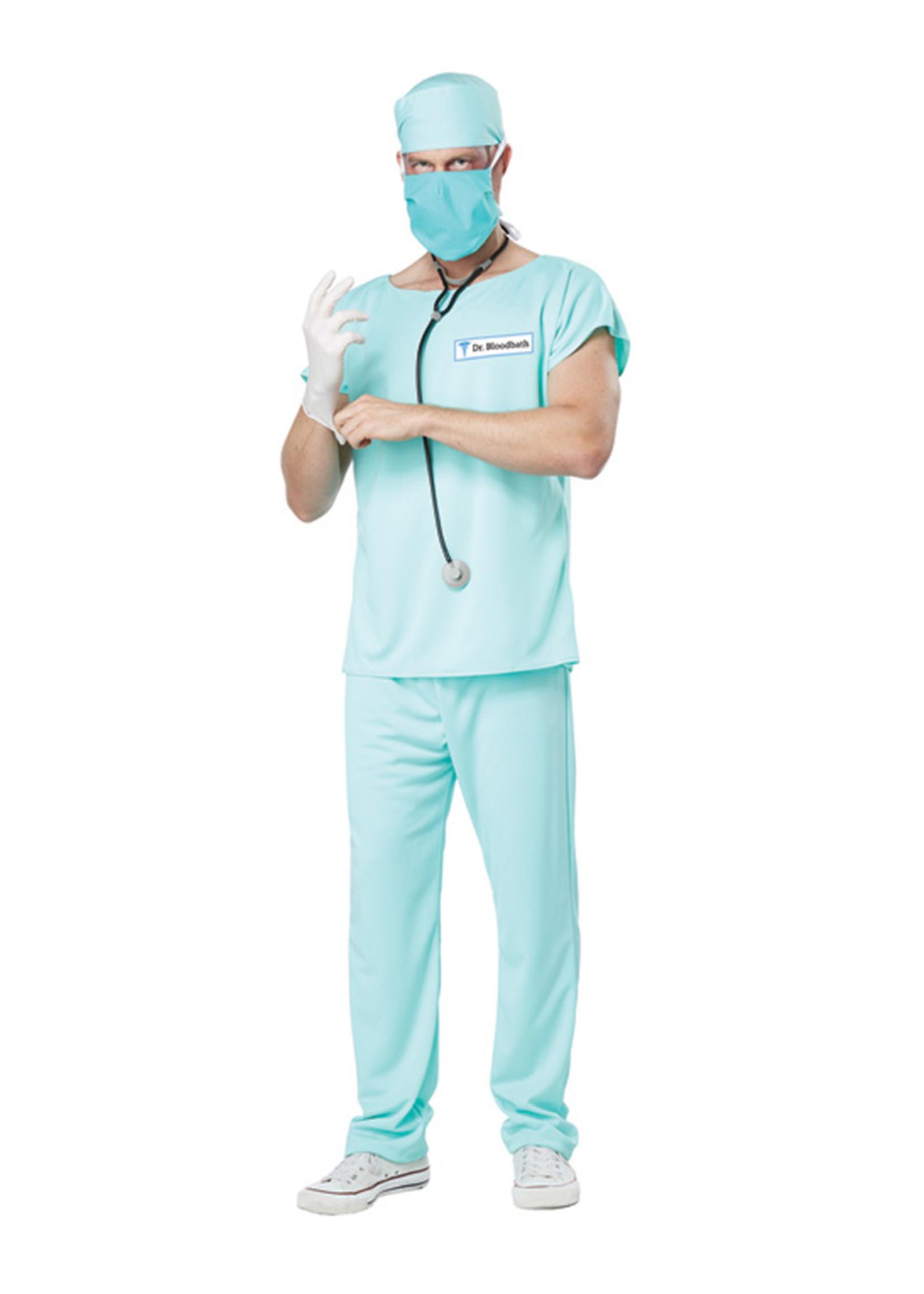 Dr. Bloodbath Costume - Men's