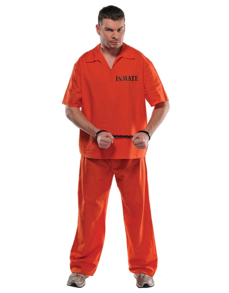 Inmate Costume - Men's