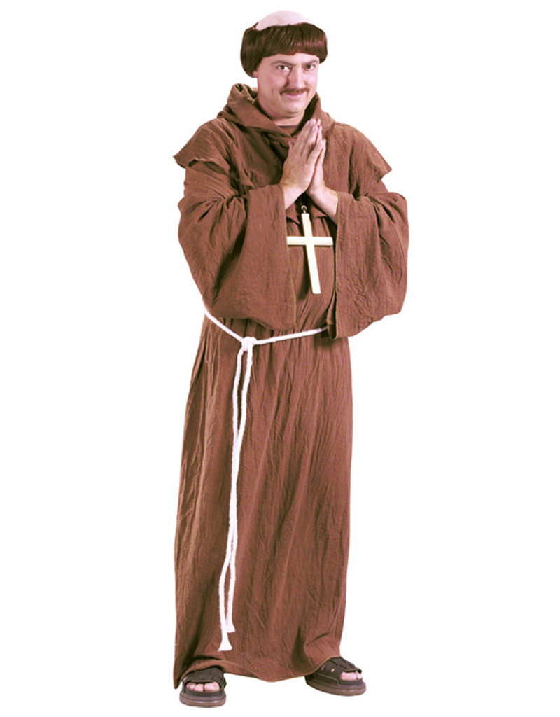 Medieval Monk Costume - Men's