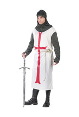 Templar Knight Costume - Men's