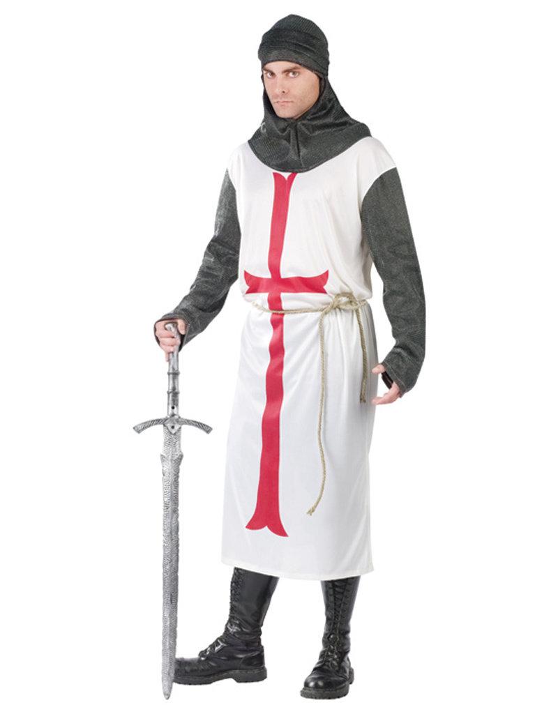 Templar Knight Costume - Men's