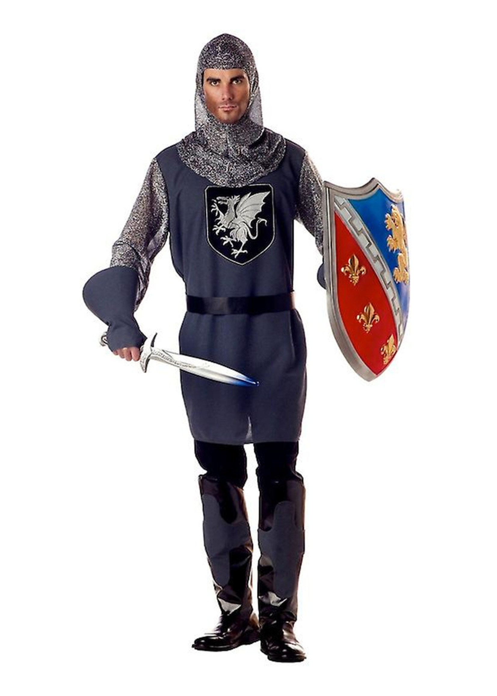 Valiant Knight Costume - Men's