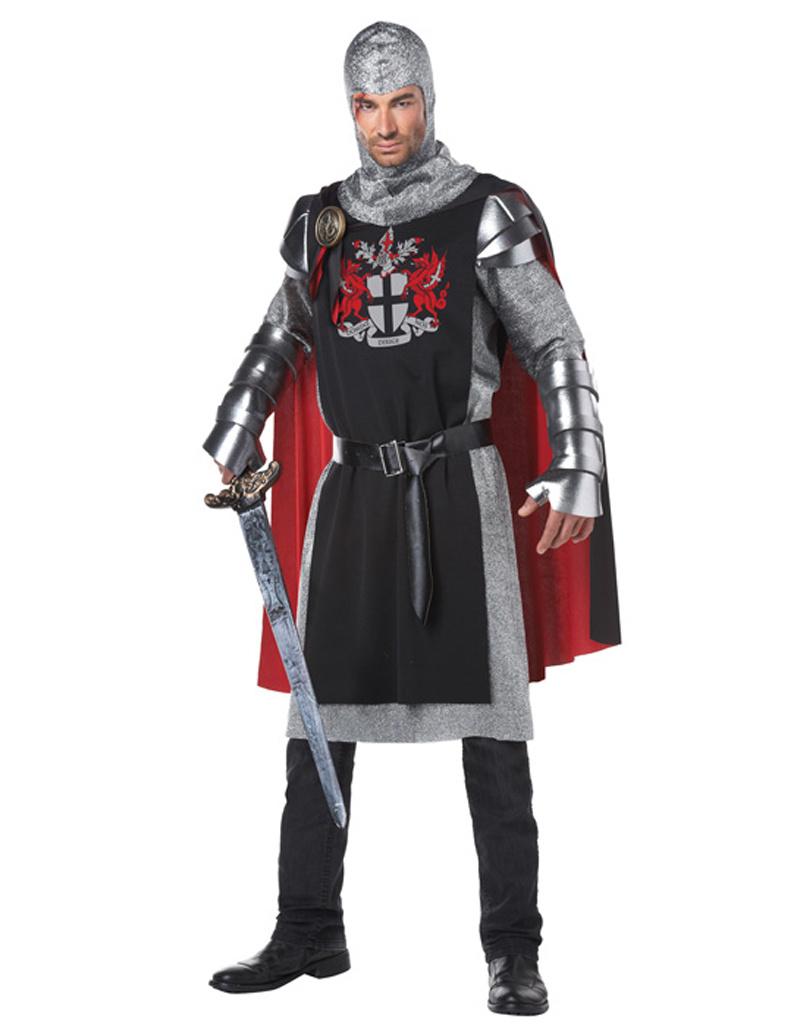 Medieval Knight Costume - Men's
