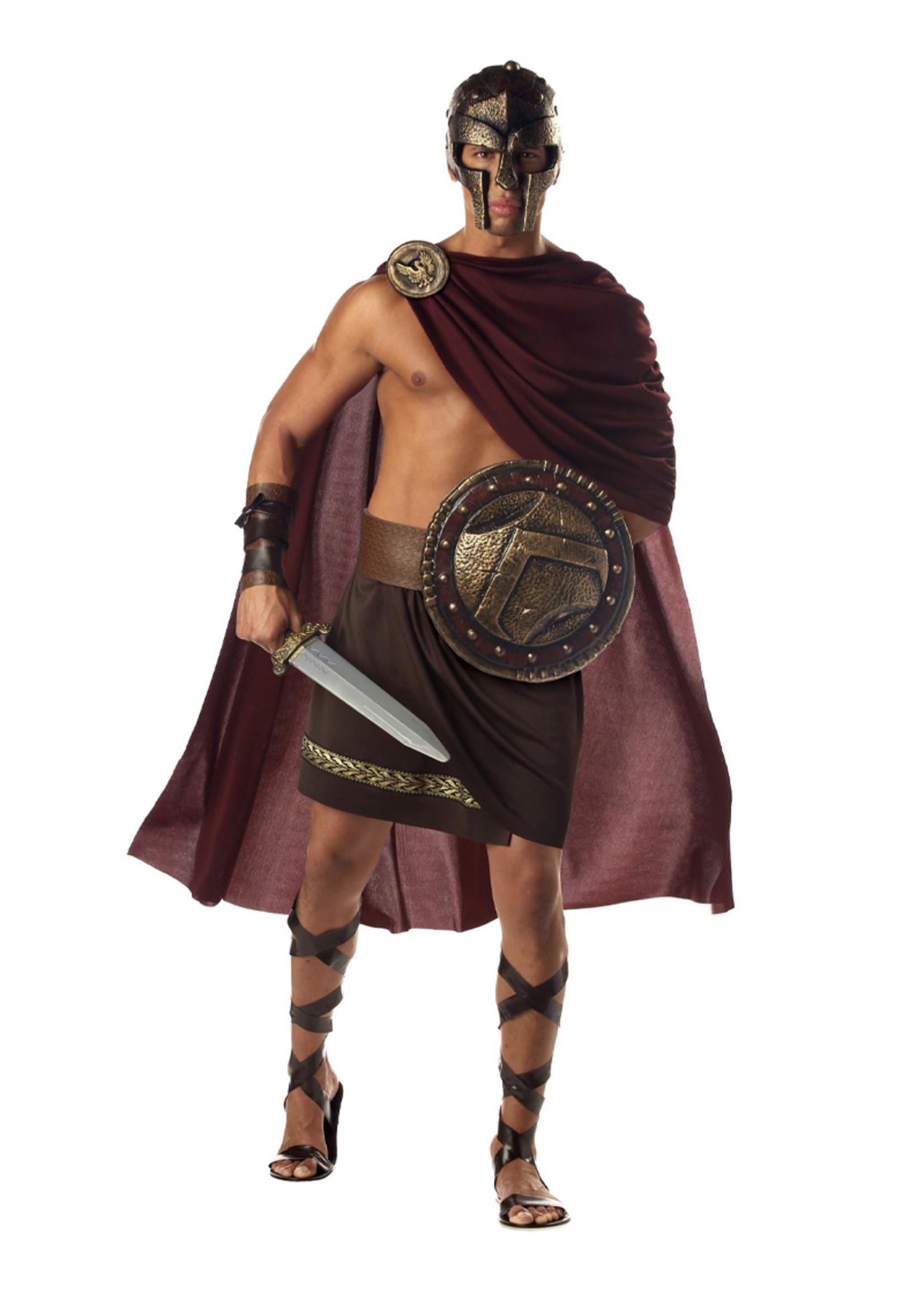 Spartan Warrior Costume - Men's