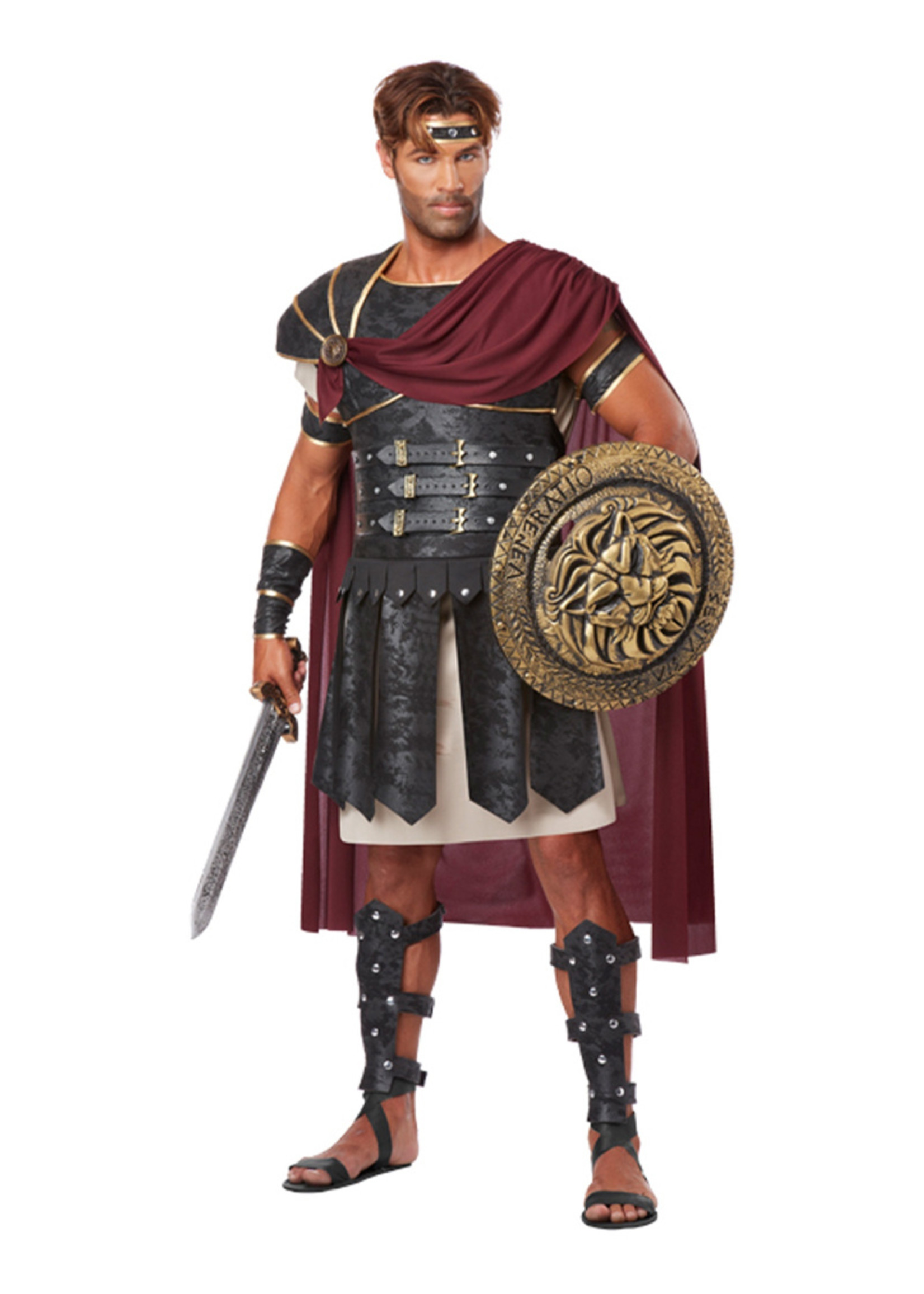 Roman Gladiator Costume - Men's