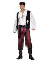 Pirate Man Costume - Men's