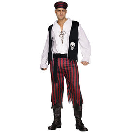 Pirate Man Costume - Men's