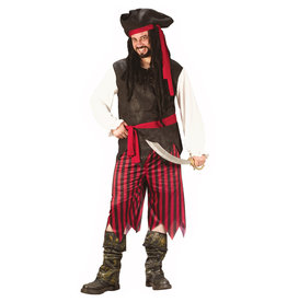 Caribbean Pirate Costume - Men's