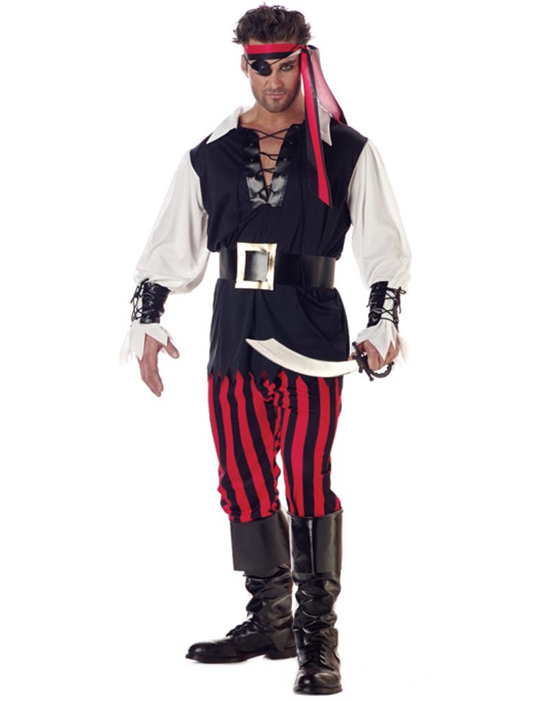 Cutthroat Pirate Costume - Men's