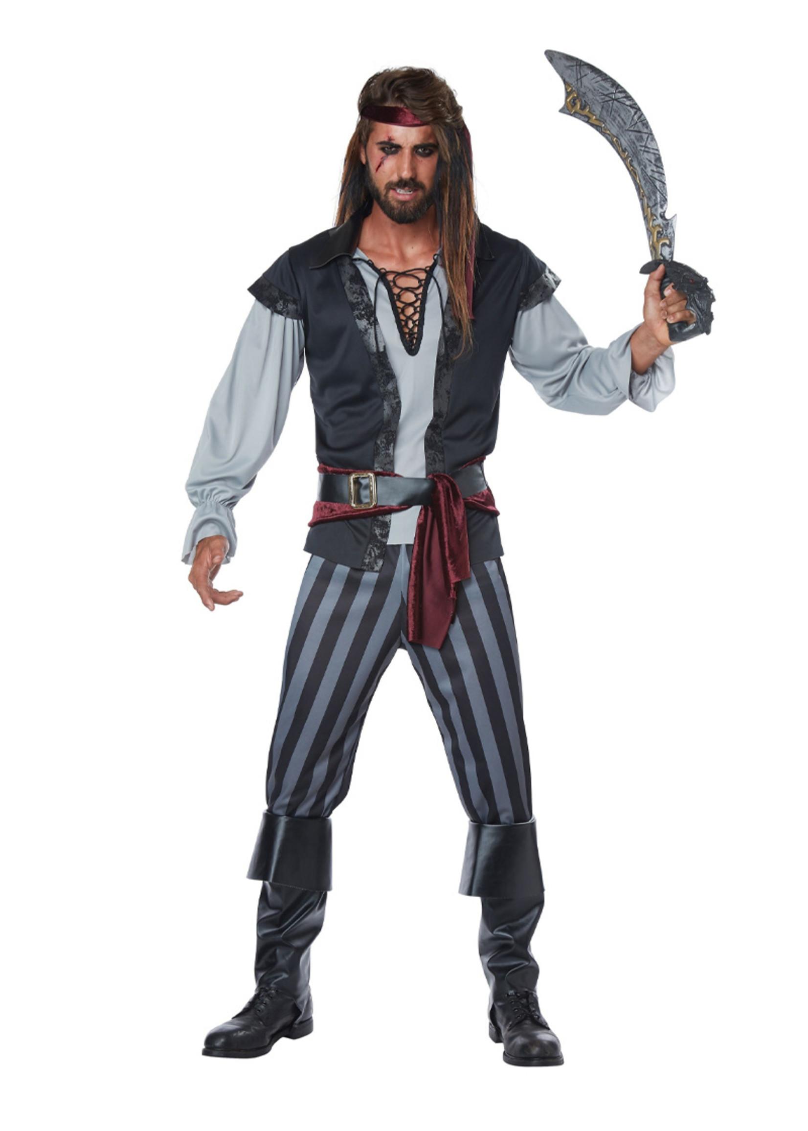 Scallywag Pirate Costume - Men's