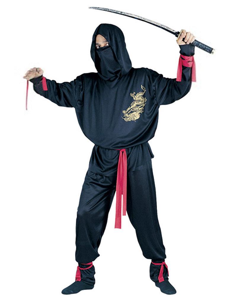Ninja Fighter Costume - Men's