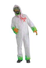 Bio-Hazard Zombie Costume - Men's