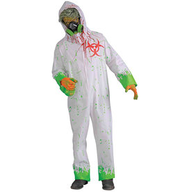 Bio-Hazard Zombie Costume - Men's