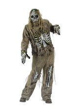 Skeleton Zombie Costume - Men's