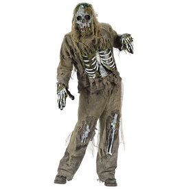 Skeleton Zombie Costume - Men's