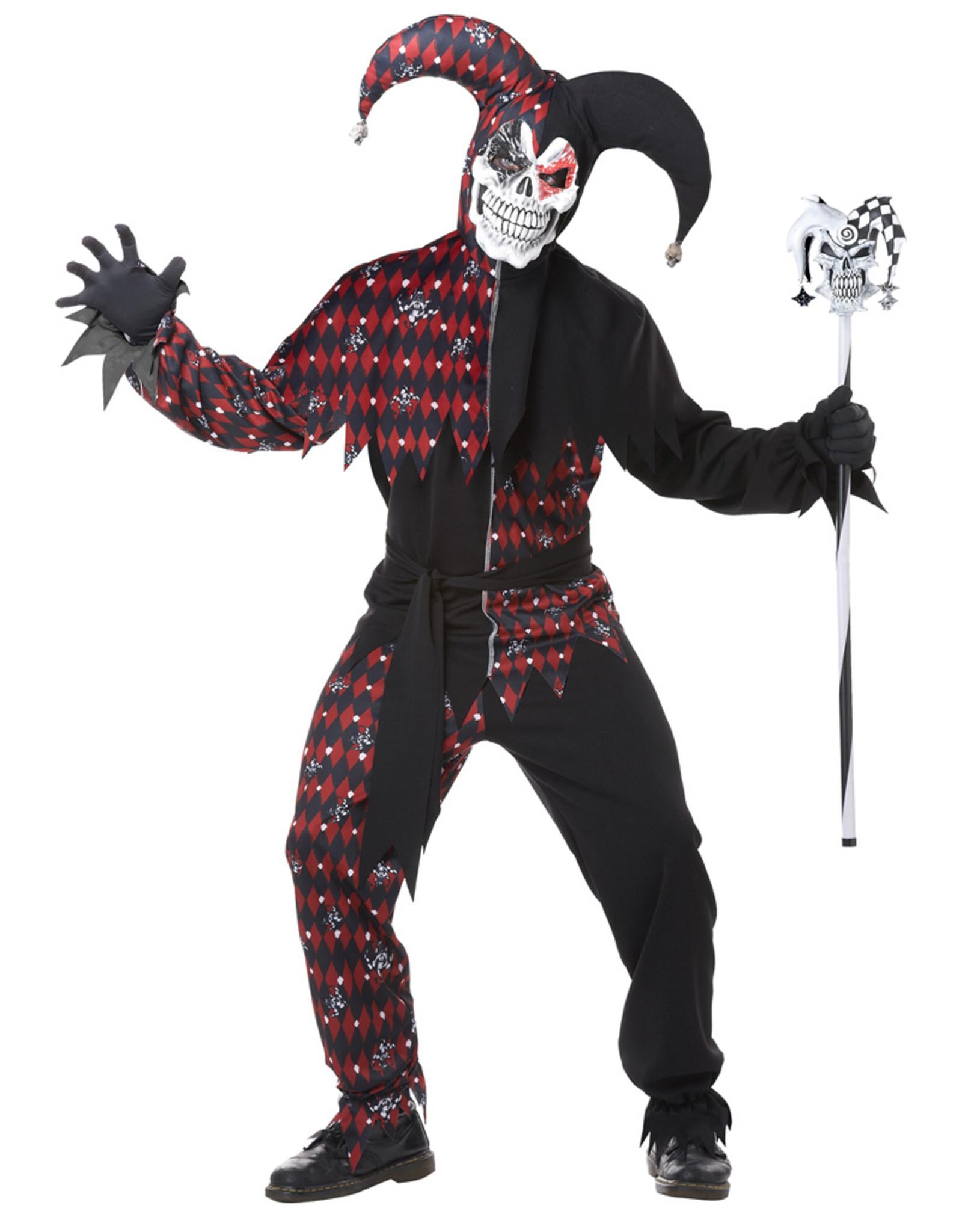 Sinister Jester Costume - Men's