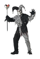 Evil Jester Costume - Men's