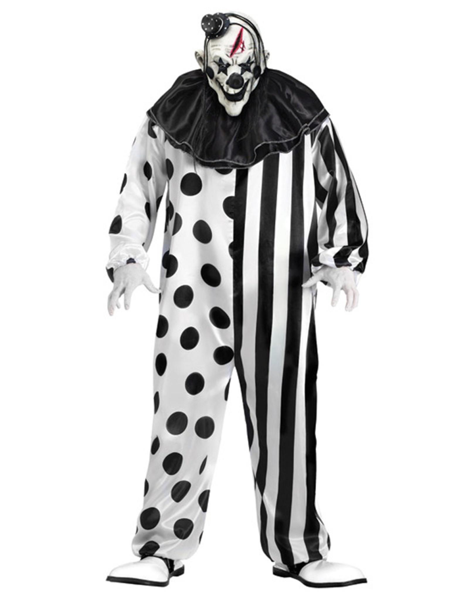 Killer Clown Costume - Men's
