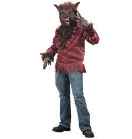 Werewolf Brown Costume - Men's