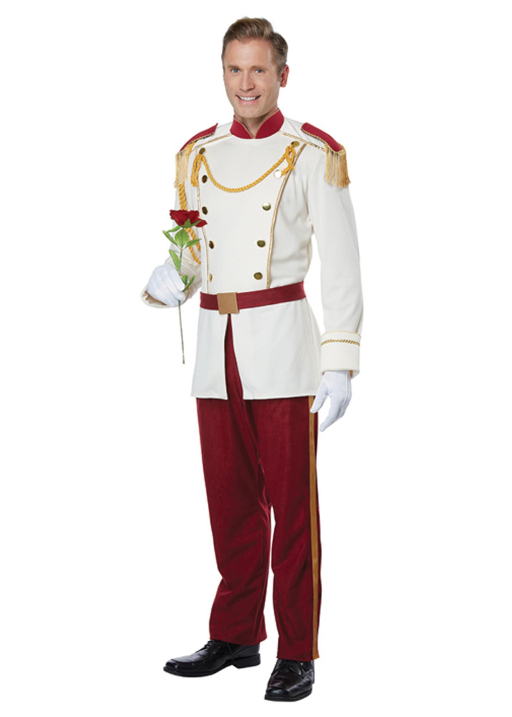 Royal Storybook Prince Costume - Men's