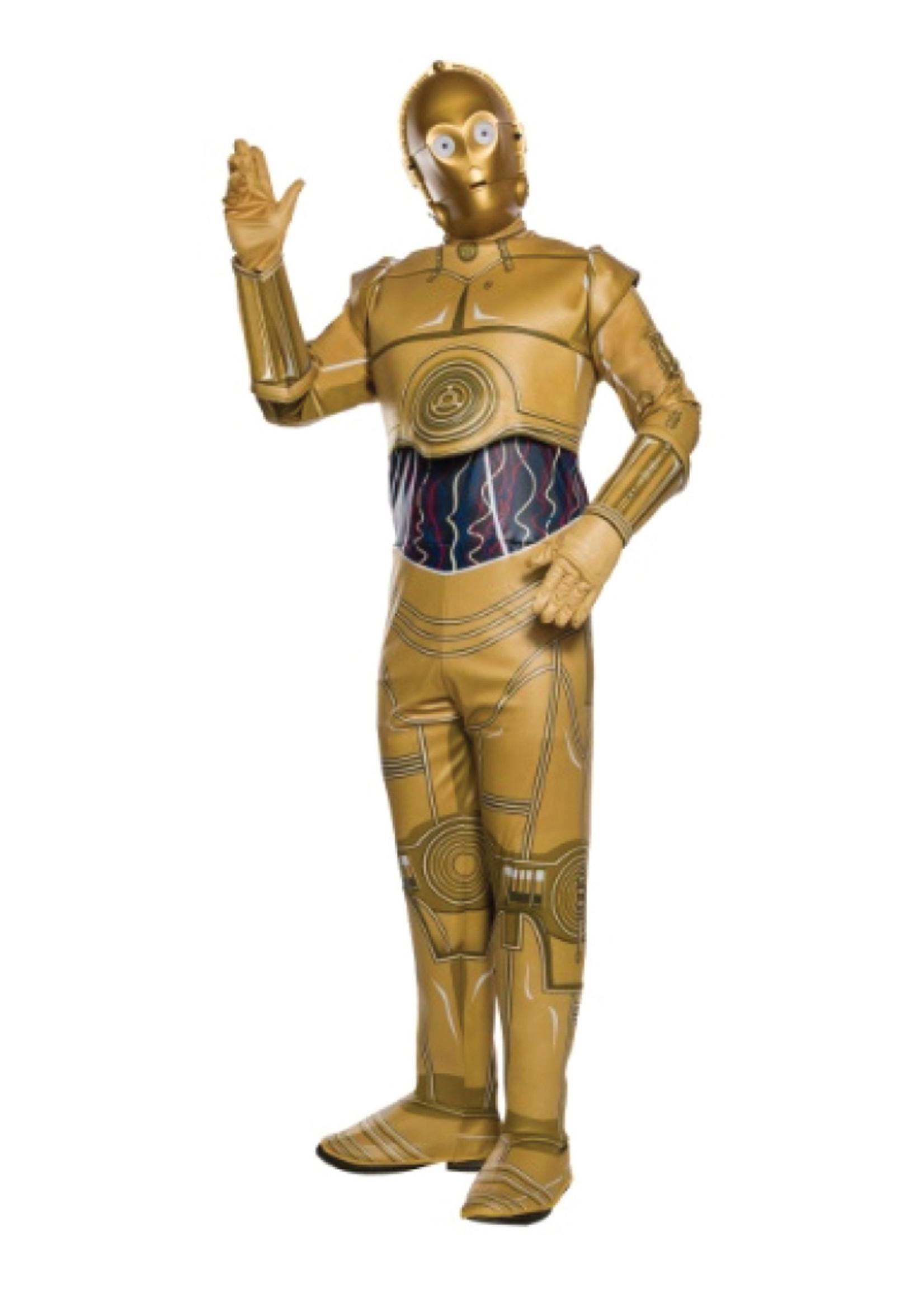 C-3PO Costume - Men's