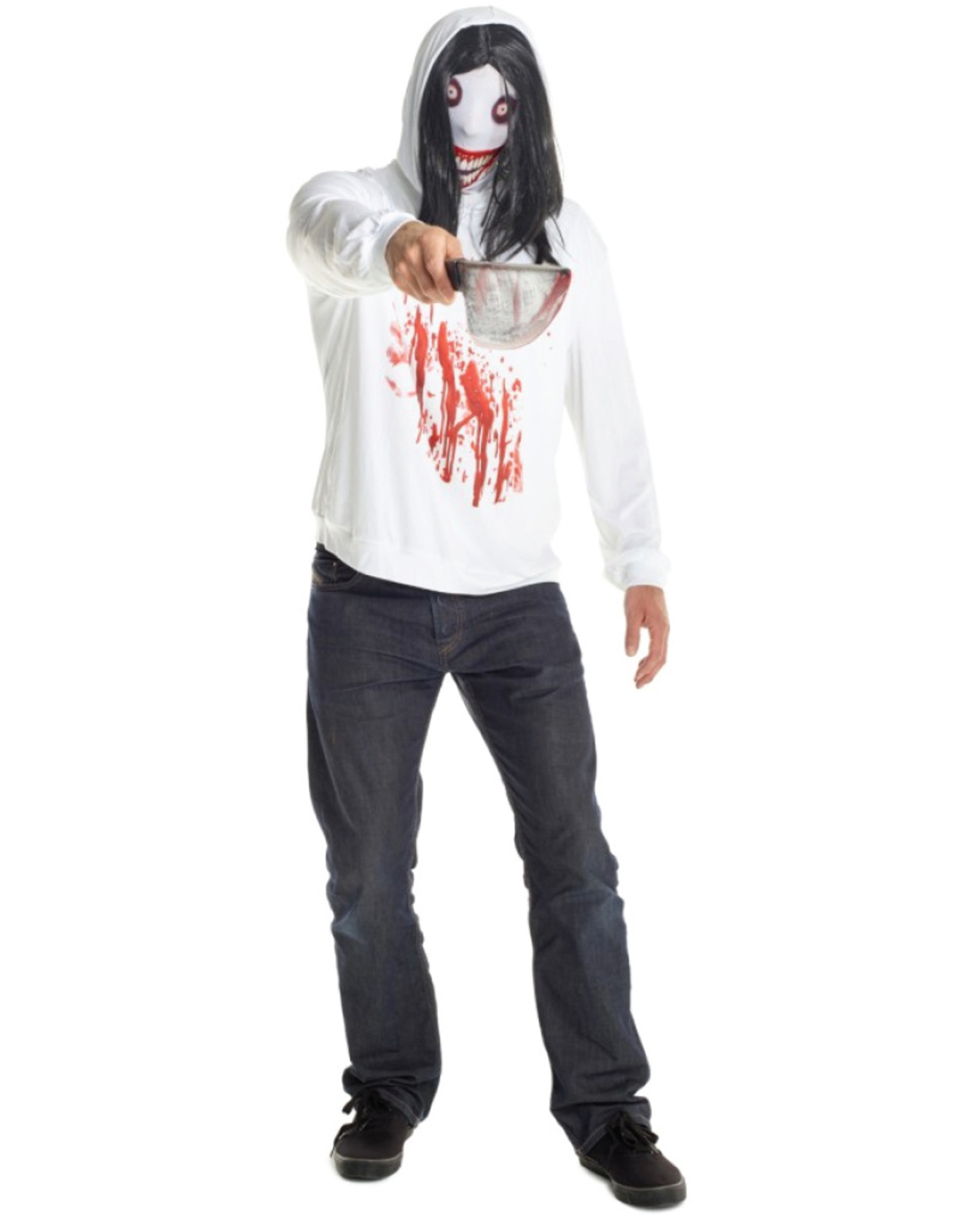 Jeff the Killer Costume - Men's