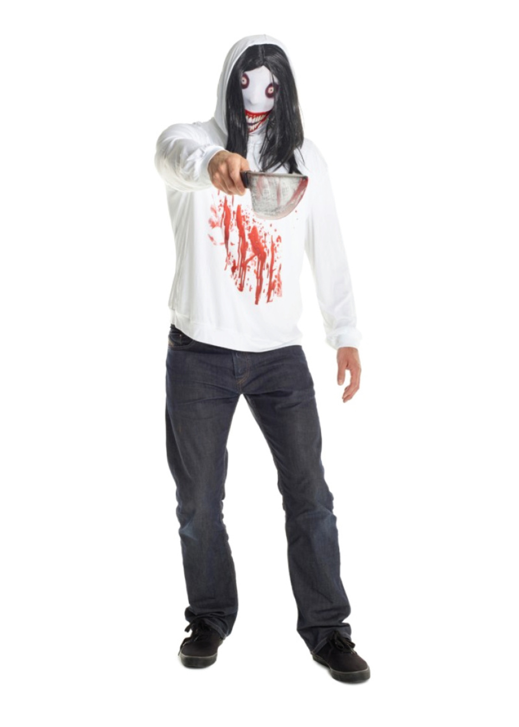 Jeff the Killer Costume - Men's