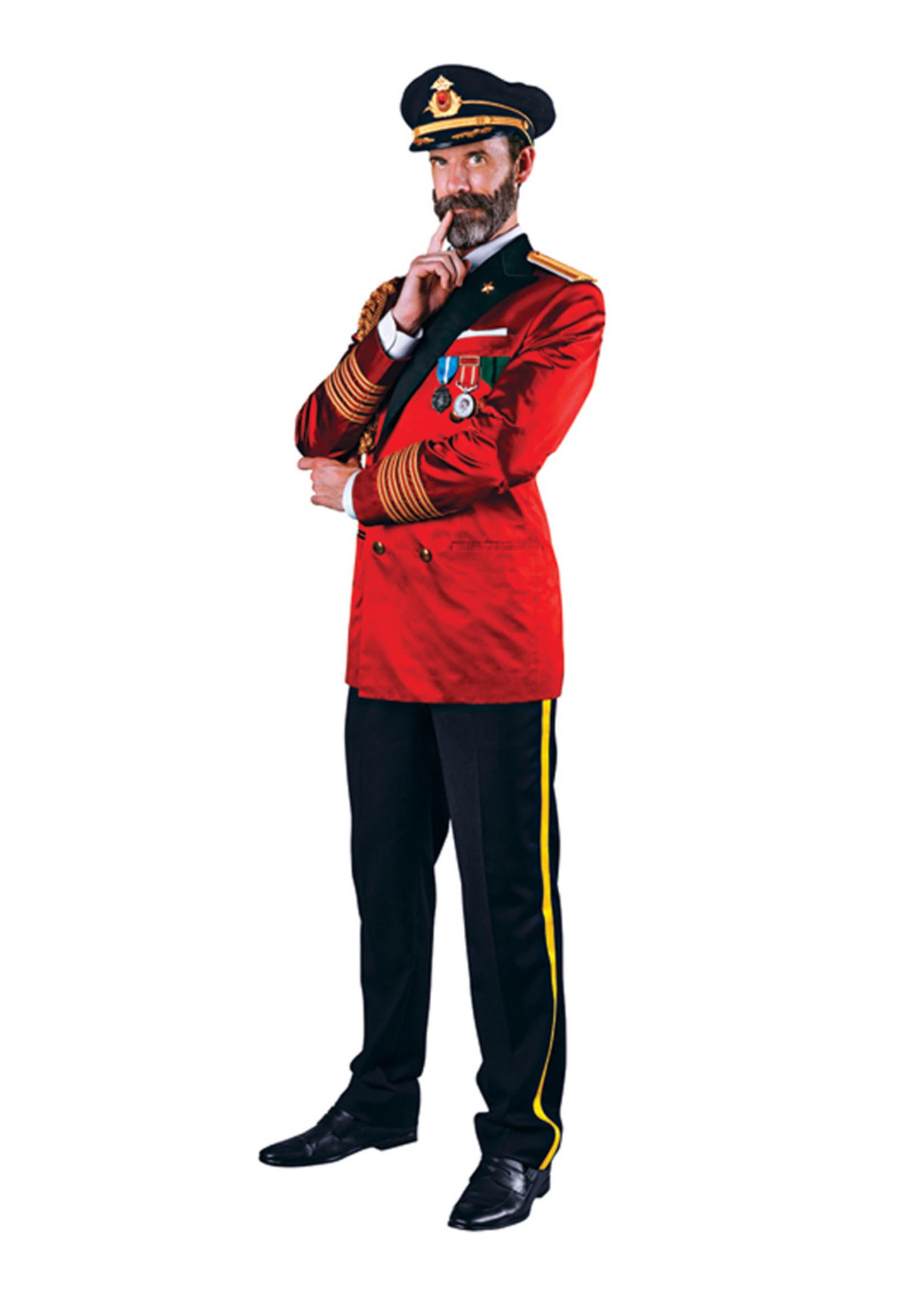 Captain Obvious Costume - Men's