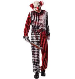 RUBIES Evil Clown Costume - Men's