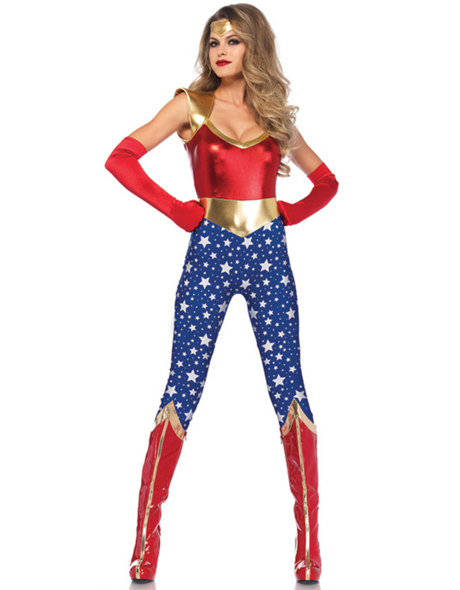 Sensational Superhero Costume - Women's