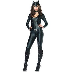 LEG AVENUE Feline Femme Fatale Costume - Women's