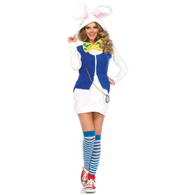 Cozy White Rabbit Costume - Women's