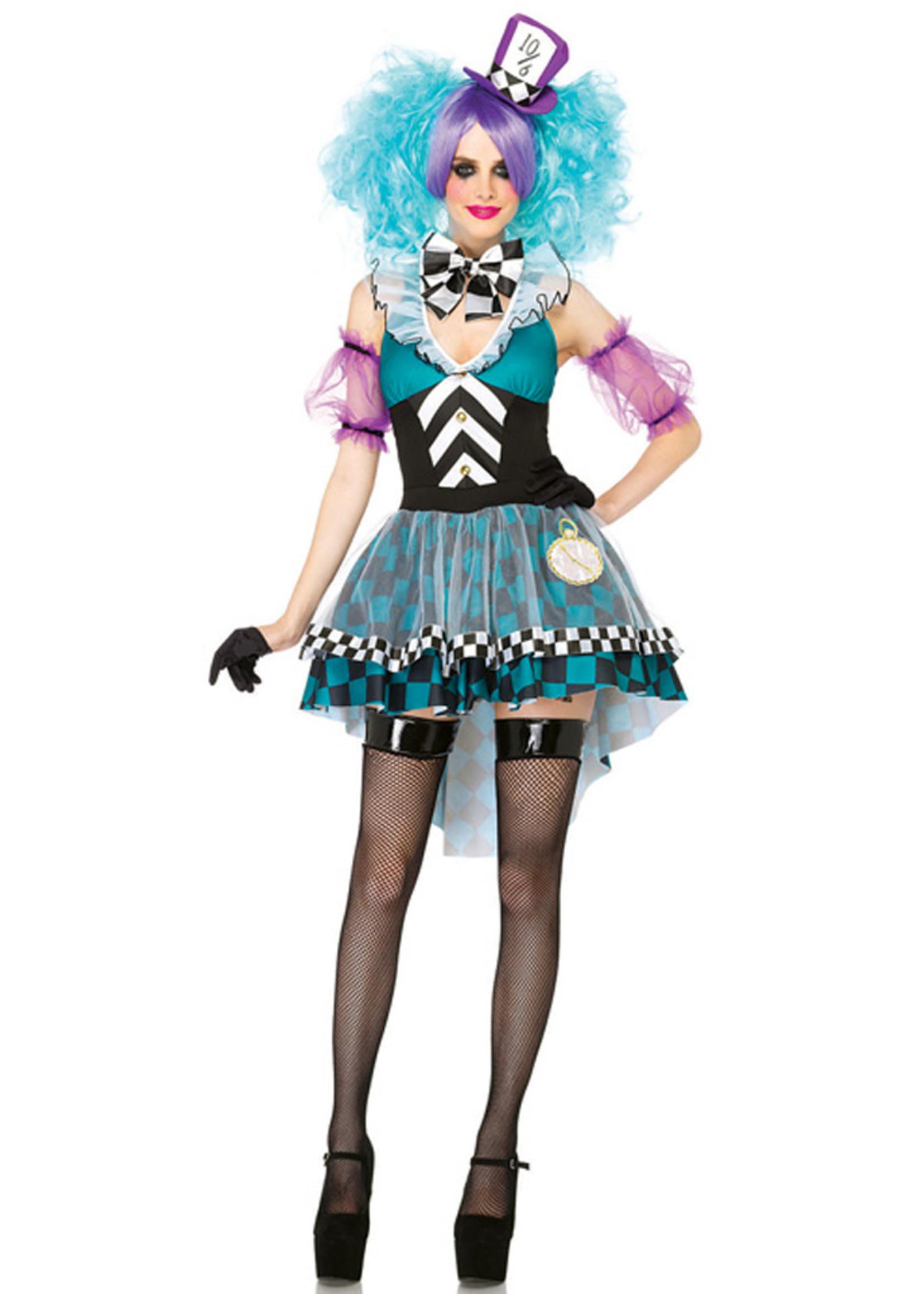 Manic Mad Hatter Costume - Women's