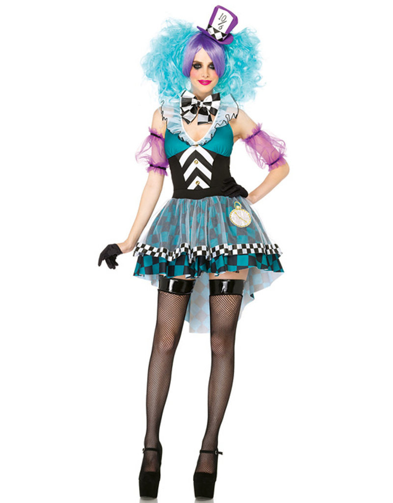 Manic Mad Hatter Costume - Women's
