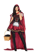 Captivating Miss Red Costume - Women's