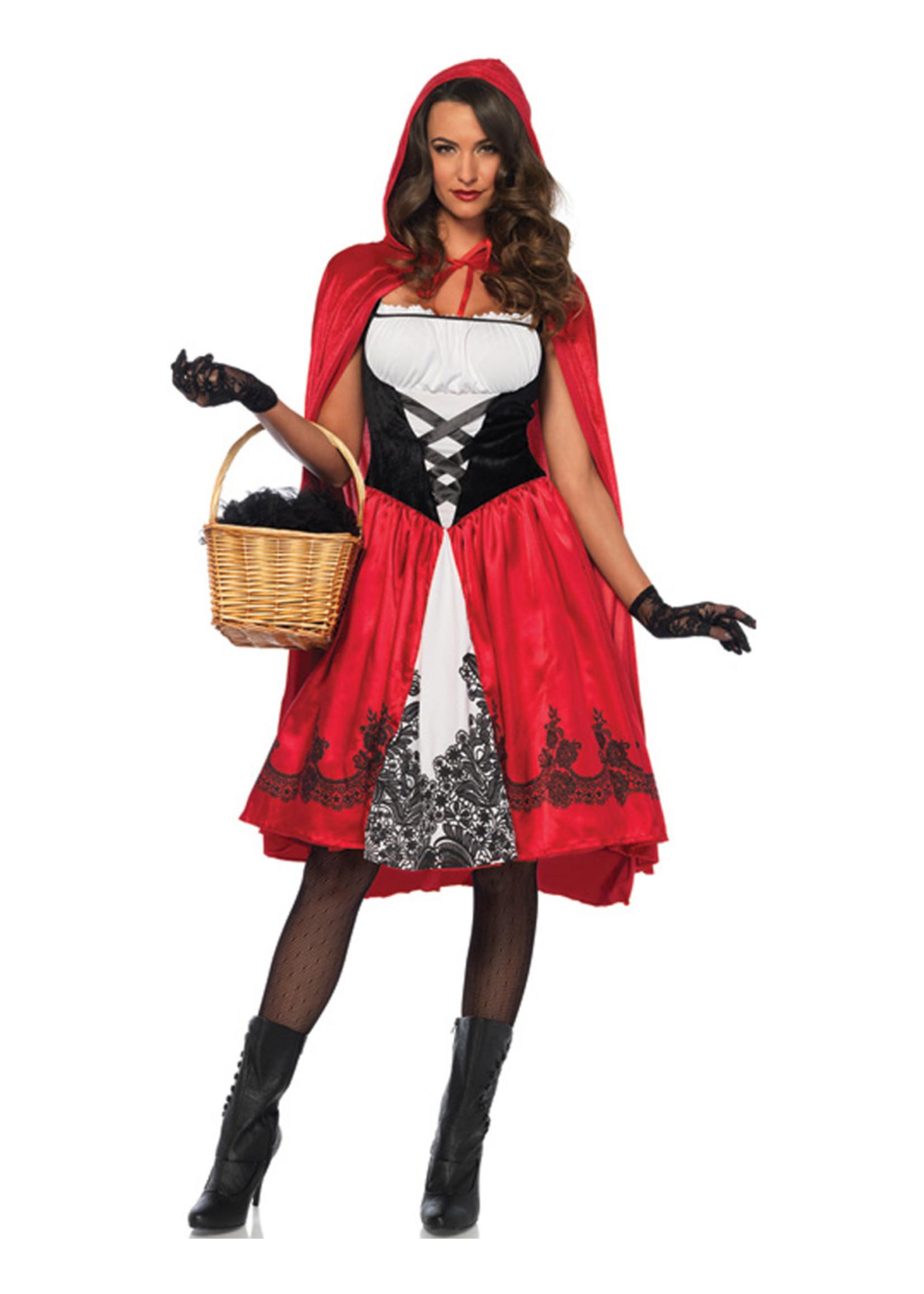 LEG AVENUE Classic Red Riding Hood Costume - Women's