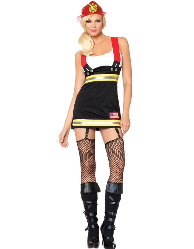 Back Draft Babe Costume - Women's