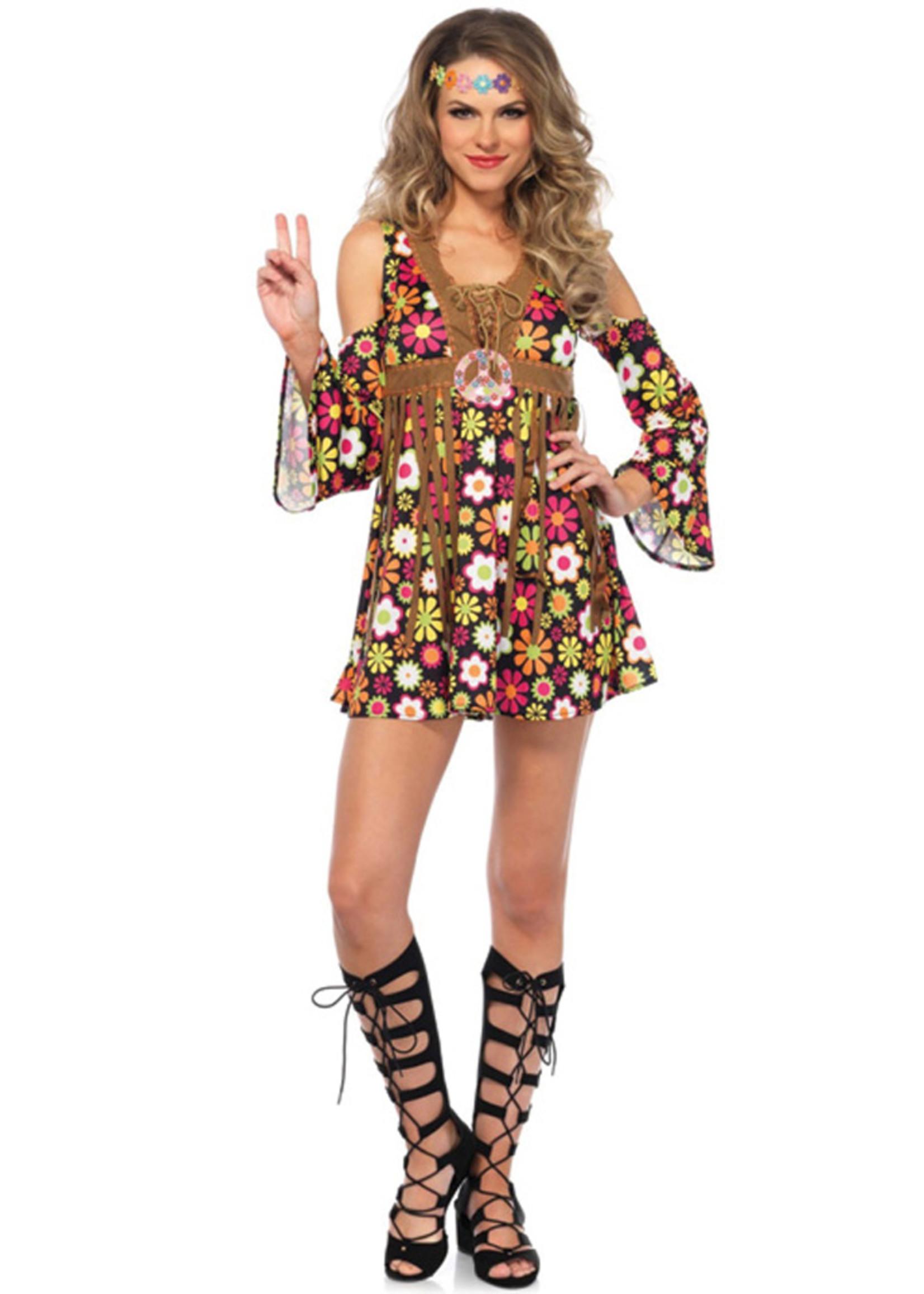 LEG AVENUE Starflower Hippie Costume - Women's